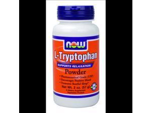 L-Tryptophan - Now Foods - 2 oz - Powder