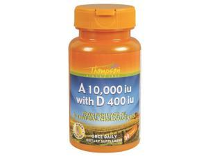 A & D Fish Liver Oil (10,000/400 IU ) - Thompson - 30 - Softgel