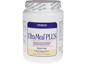 Metagenics, UltraMeal PLUS Vanilla 23 oz
