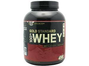 Optimum Nutrition Gold Standard 100% Whey Protein Cookies N' Cream 5 lbs.