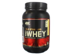100% Whey Protein, Vanilla, 2 lbs. Gold Standard Protein From  Optimum Nutrition