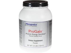 Metagenics, ProGain Powder Natural Vanilla 3 lbs