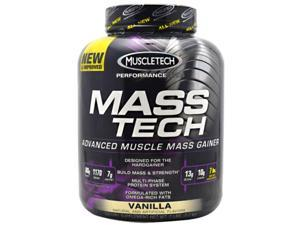 Performance Series Mass Tech Vanilla - Muscletech - 7 lb - Powder