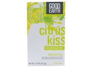 Good Earth Green Tea Lemongrass, Tea Bags, 20-Count, Boxes Net Wt  1.3 Oz (Pack of 6)