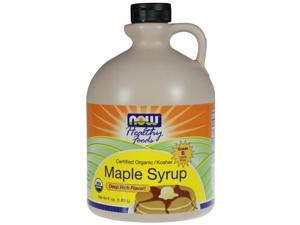 Now Foods, Organic Maple Syrup Grade B 64 fl oz