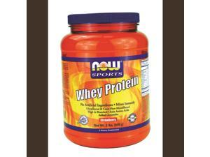 Now Foods, Whey Protein Strawberry 2 lbs