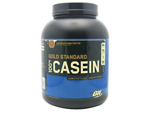 Gold Standard 100% Casein, Chocolate Peanut Butter, 4 lbs, From Optimum Nutrition