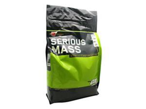 Serious Mass - Strawberry SF - Optimum Nutrition - 12 lbs - Powder