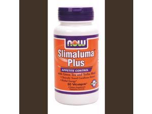 Slimaluma Plus- Appetite Control With Green Tea And Yerba Mate - Now Foods - 60 - VegCap