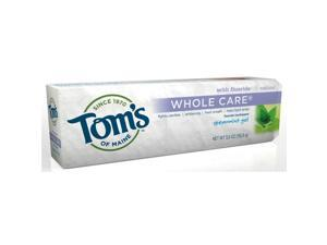 Whole Care Spearmint - Tom's Of Maine - 4.7 oz - Gel