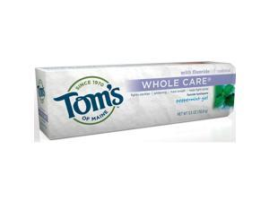 Whole Care Peppermint - Tom's Of Maine - 5.5 oz - Gel
