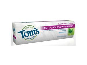 Antiplaque & Whitening-Spearmint - Tom's Of Maine - 5.5 oz - Paste