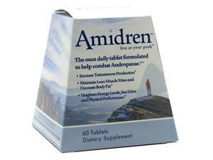 Amidren, Increase Testosterone Production, 60 Tablets, From MHP