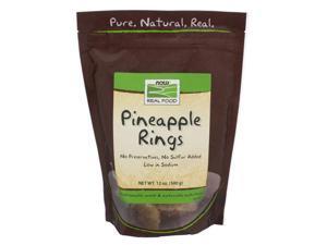 Now Foods, Pineapple Rings 12 oz