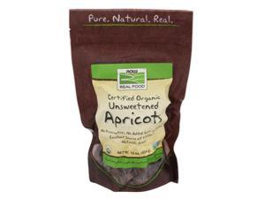 Now Foods, Organic Unsweetened Apricots 1 lb