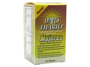 Absolute Nutrition, Uno Diario Mujeres 100 Tablets