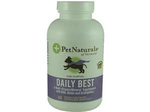 Pet Naturals Of Vermont, Daily Best For Puppies Chicken Liver 60 Chewable Tablets