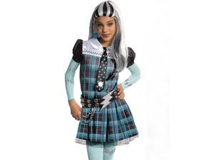 Deluxe Kids Monster High Frankie Stein Costume - Medium