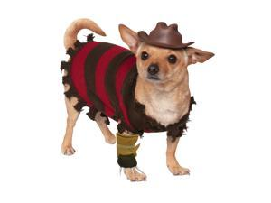 Freddy Krueger Dog Costume - A Nightmare on Elm Street Costumes