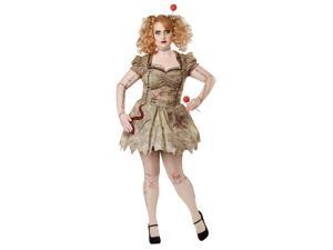 Voodoo Dolly Womens Adult Plus Puppet Costume