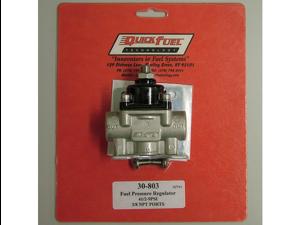 Quick Fuel 30-803 2 Port Fuel Pressure Regulator Carbureted 4.5-9 psi.