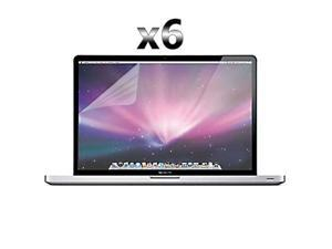 "Premium 6 Pack Clear Screen Film Protectors for Apple® MacBook Pro® 15"" A1286 - Generic"