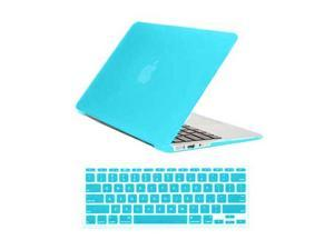 "TIFFANY BLUE Frosted Matte Rubber Coated Rubberized SeeThru Hard Snap On Case for Apple 11"" inch Macbook Air - With Silicone ..."