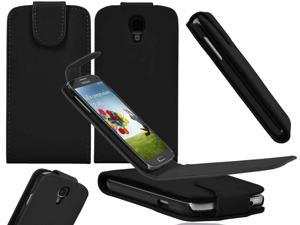 Premium Leather Vertical Magnetic Flip Case Pouch for Samsung© i9500/i9505 Galaxy© S4 - Generic
