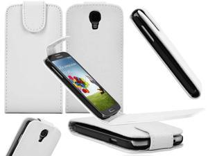 Premium Leather Vertical Magnetic Flip Case Pouch for Samsung© i9500 Galaxy© S4 - Generic
