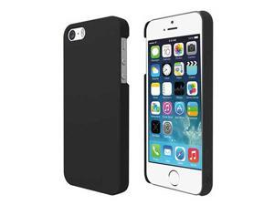 Case for New iPhone® 5S / 5 - Premium Black Hard Shell Back Case Cover