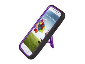 Heavy Duty Dual Layer Protective Case with Kick-Stand Case Cover for Samsung© i9500 Galaxy© S4 - Generic