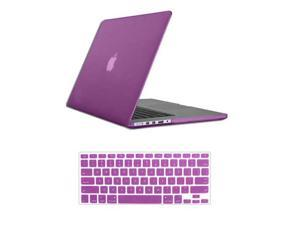 For Macbook Pro 15 Retina Rubberized Matte Hard Case Cover Mac Book A1398 With Keyboard Skin + Screen Protector