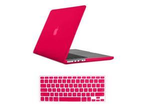For Macbook Pro 15 Retina_Rubberized Matte Hard Case Cover Mac Book A1398 With Keyboard Skin + Screen Protector