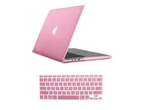 """For Macbook Pro 15.4"""" 15"""" Retina Rubberized Matte Hard Case Cover Mac A1398 With Keyboard Skin + Screen Protector"""