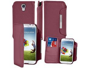 Premium Magnetic Flip Leather Case Cover Wallet for Samsung© i9500 Galaxy© S4 - Generic