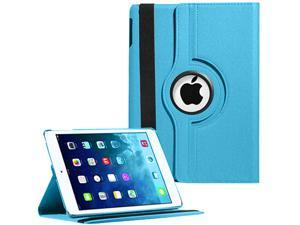 """360 Degree Rotating Luxury PU Leather Classic Case Cover Skin Protection for Apple iPad Air Retina Display 9.7"""" 2013"""