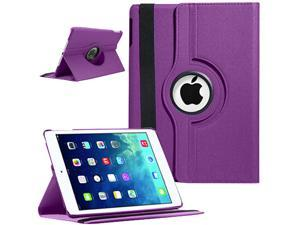 "Apple iPad Air 360 Degree Rotating PU Leather Stand Leather Case iPad Air 5 Retina Display 9.7"""