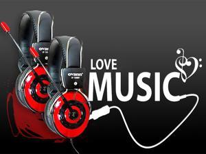 2 X OV-T688MV 3.5mm HIFI Wired Stereo Game Gaming Headset Headphone With Microphone Pc Laptop Computer Notebook Skype MSN ...