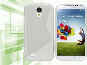 Premium S Pattern TPU Gel Soft Skin Case Cover for Samsung© i9500 Galaxy© S4 - Generic