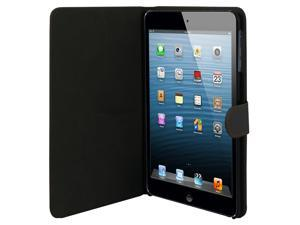 Cover Cases for New Apple iPad Mini - Luxury Leather Sleep Wake Magnetic Flip Stand Cover Skin Case BLACK
