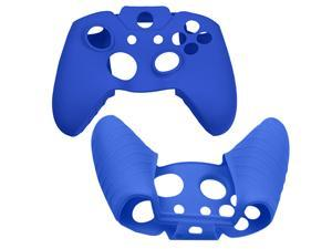 [Brand New] Silicone Soft Gel Rubber Super Hand Grip Case Cover Skin for Microphone Xbox One Game Controller - Blue Color