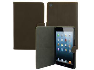 For Apple iPad Mini - Luxury Leather Flip Stand Cover Skin Protective Case Pouch COFFEE