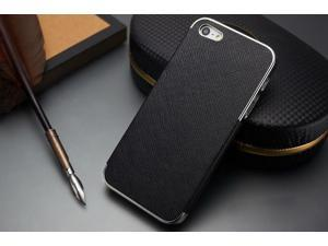 Apple® iPhone® 5 Elegant Leather Chrome Case