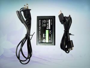 AC Wall Charger Adapter w/ USB charging Cable for Sony PS Vita PSV