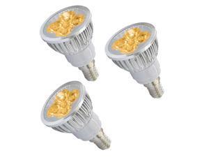 3pcs Ultra Bright E14 LED Spot Lights Lamp Bulb 15W - Warm White (3200-3500K) - New