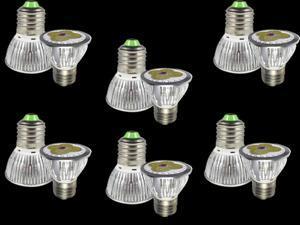 6pcs Ultra Bright E27 LED Spot Lights Lamp Bulb 15W - Cool White (6000-6500K)