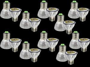 Premium 10pcs Ultra Bright E27 LED Spot Lights Lamp Bulb 12W - Cool White (6000-6500K)