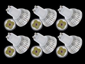 New Wholesale Lot 6pcs Ultra Bright GU10 LED Spot Lights Lamp Bulb 12W - Cool White (6000-6500K)