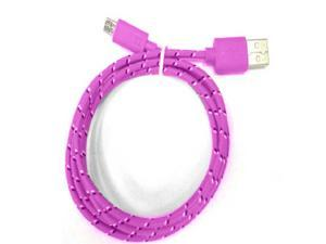6FT Micro USB Data Sync Charging Charger Cable For Samsung Galaxy S5 S4 S3 Note 3 2 - Braided Fabric