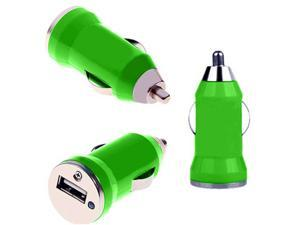 SmackTom™ Premium Brand New Universal USB Car Charger For Samsung HTC Nokia Moto LG - In Grass Green Color